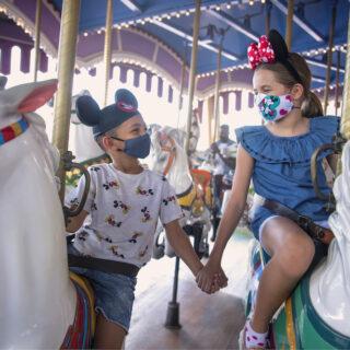 Disney Masks Kids Reopening