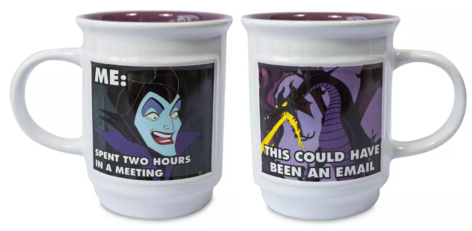Disney Villian Meme Mug Malificent