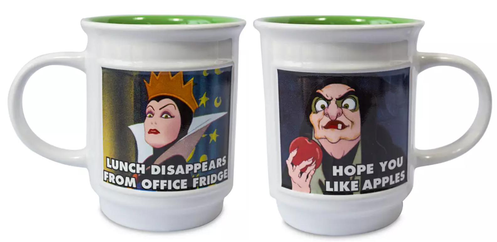 Disney Villian Meme Mug