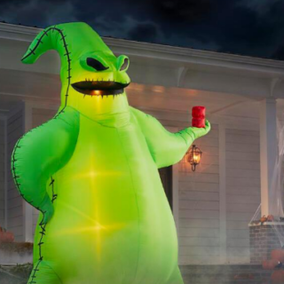 oogie boogie 10 ft inflatable