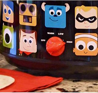pixar slow cooker