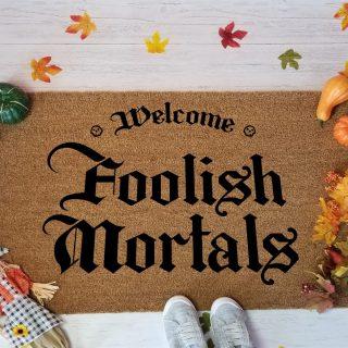 Foolish Mortals rug