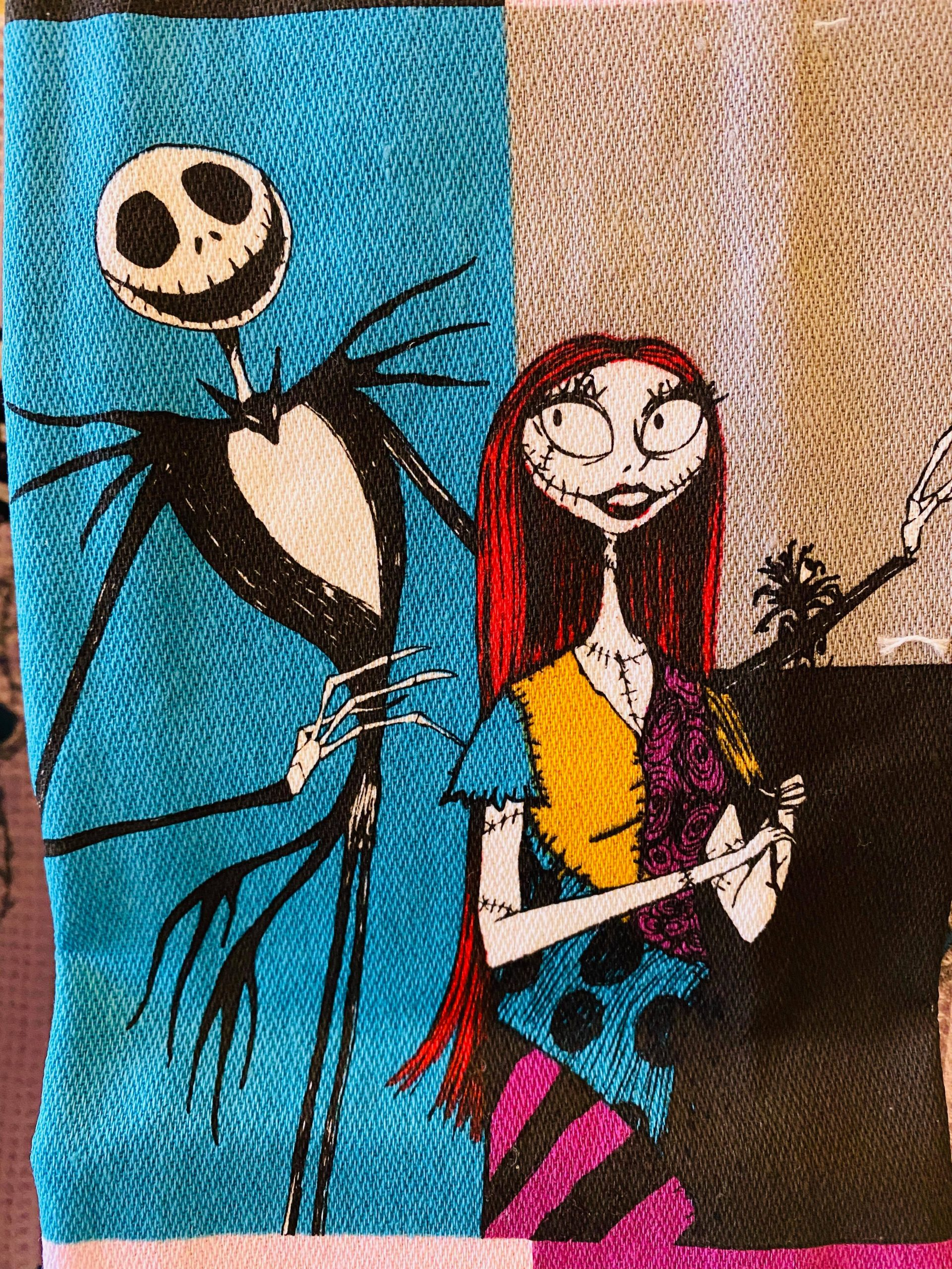 nightmare before christmas towel