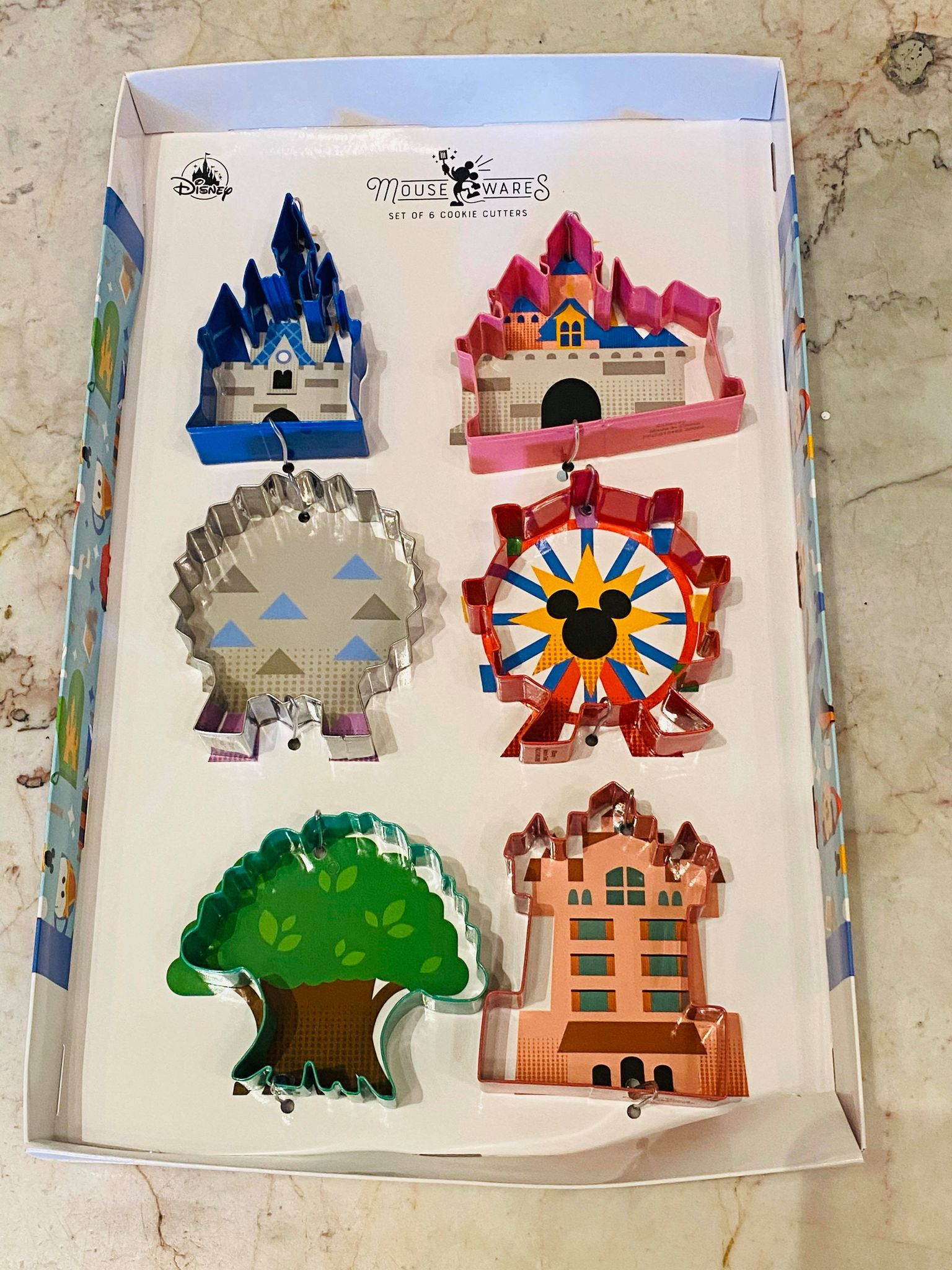 park icons cookie cutters