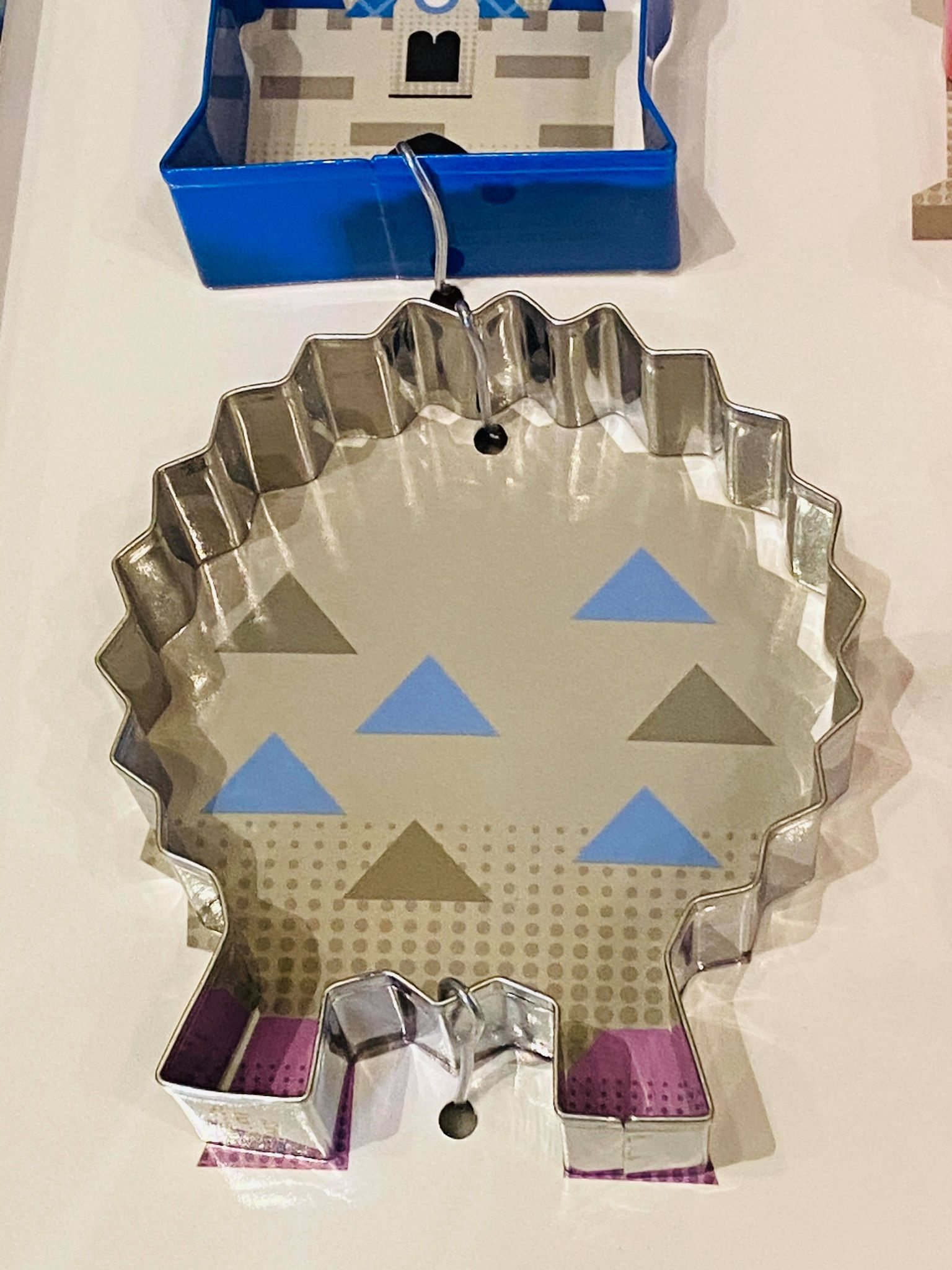 Epcot cookie cutter