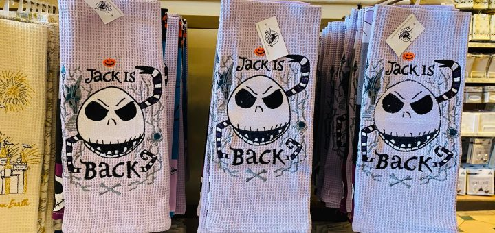 nightmare before christmas kitchen towel