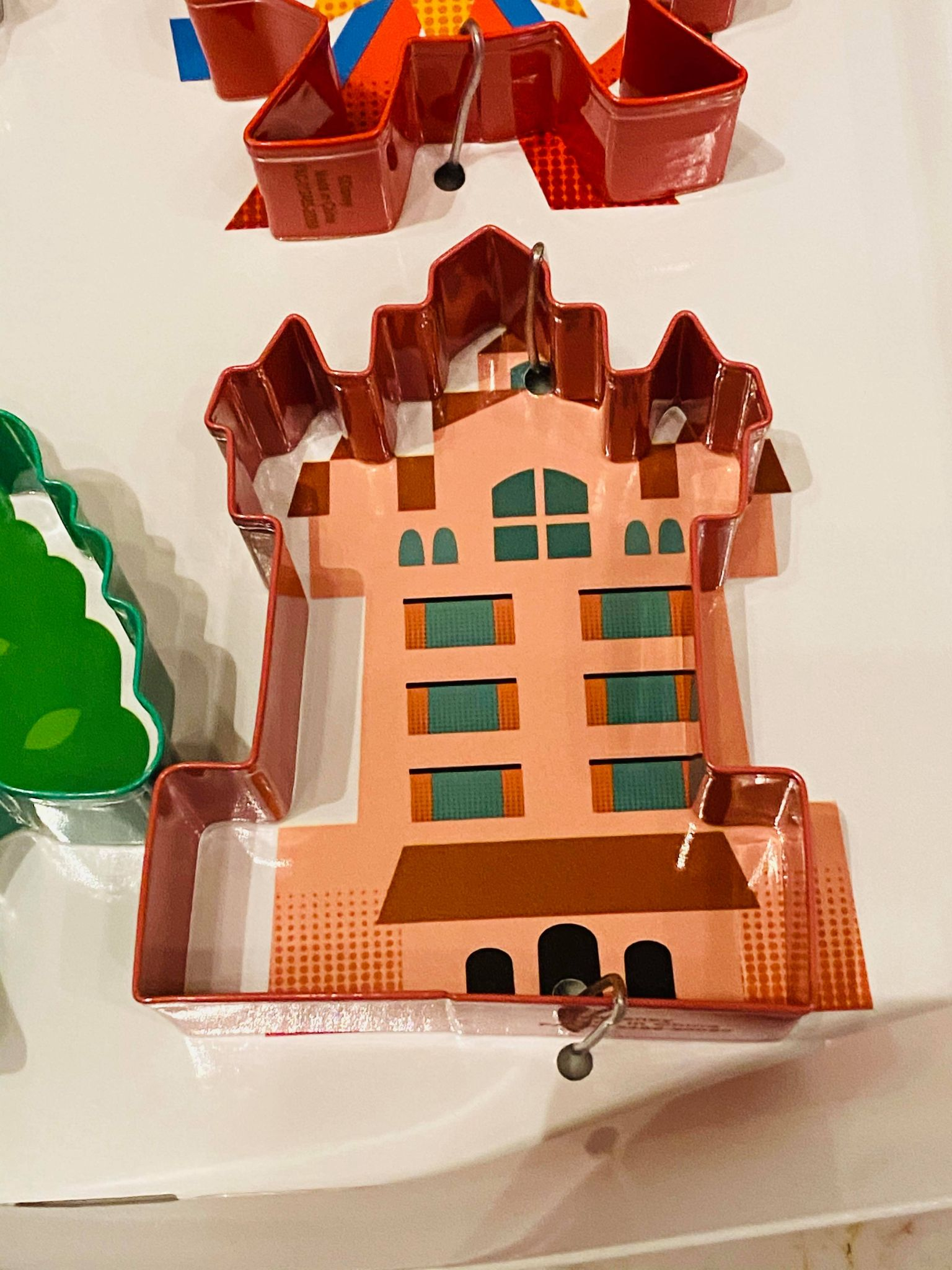 tower of terror cookie cutter