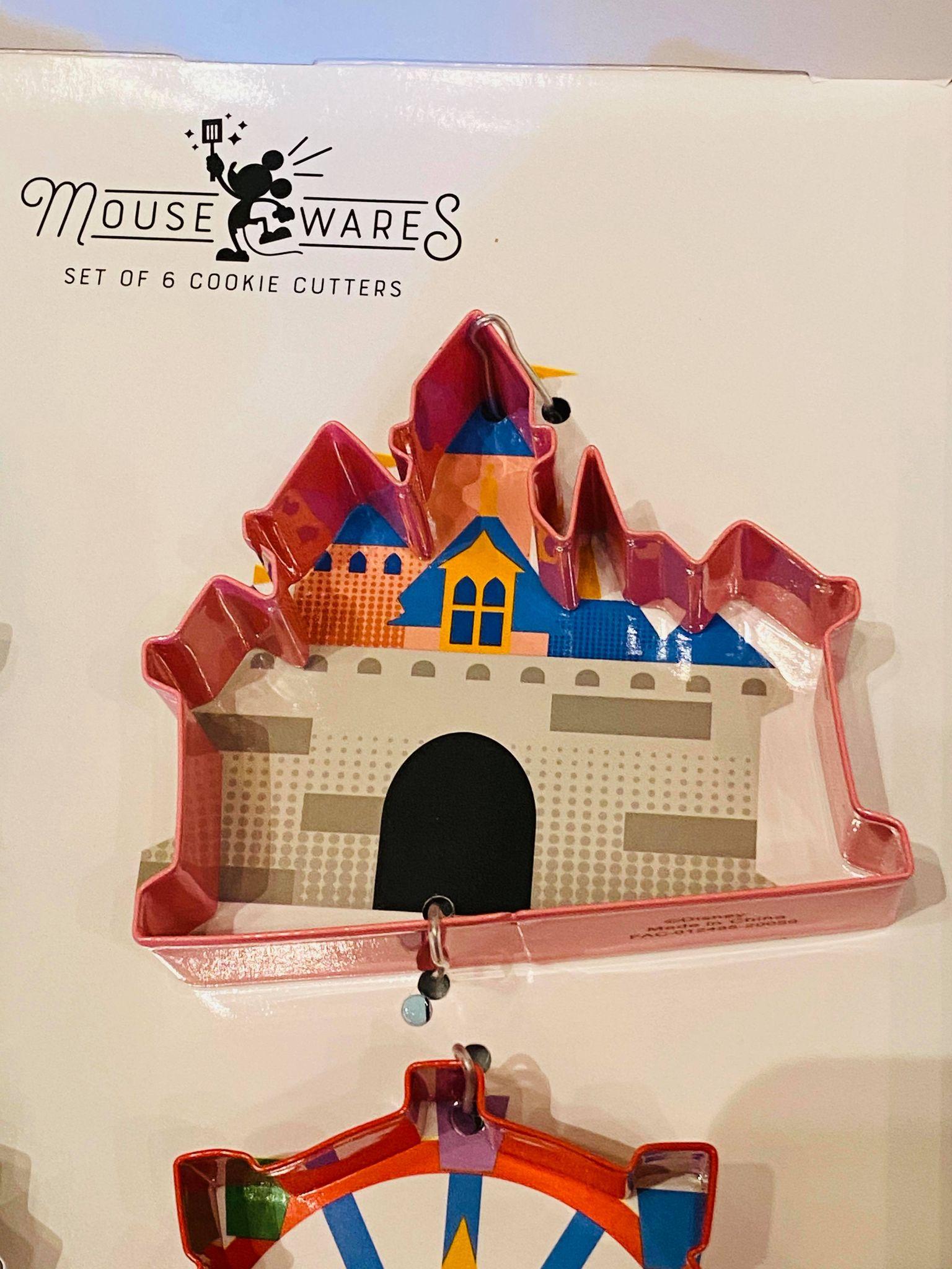 Disneyland castle cookie cutter