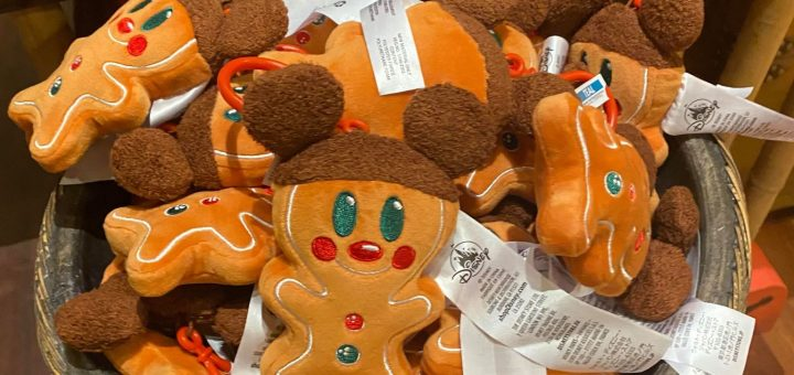 Mickey Gingerbread plush