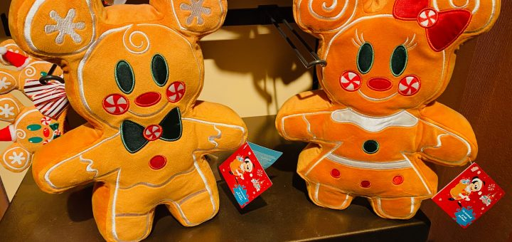 mickey and minnie gingerbread