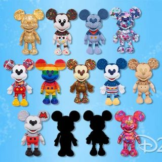 year of the mouse mickey plush