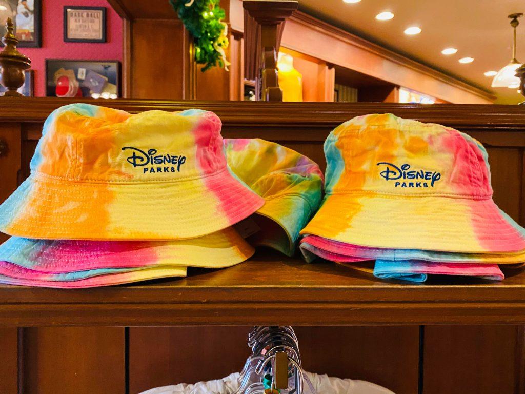 tie-dye disney hat