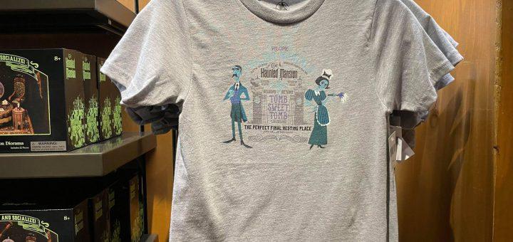 kids haunted mansion shirt