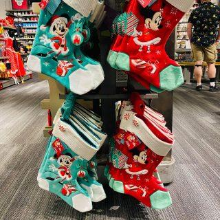 Mickey and Minnie Stockings