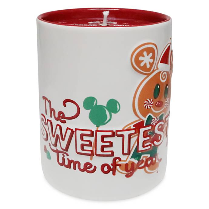 gingerbread mickey candle