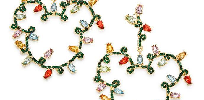 mickey lights earrings baublebar