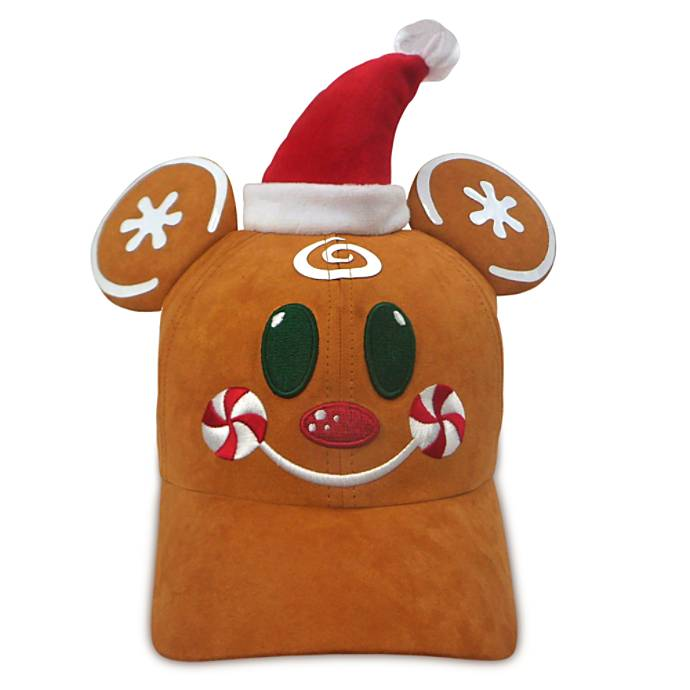 gingerbread mickey hat
