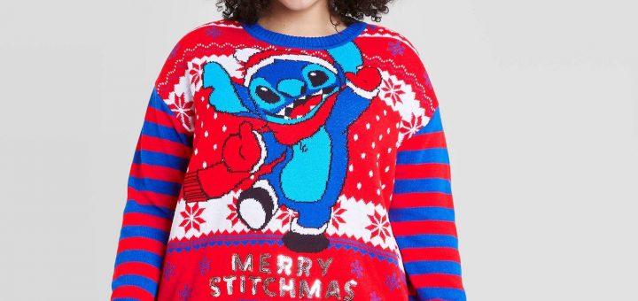 stitch Christmas sweater