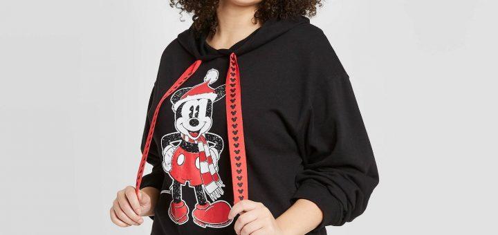 Santa Mickey sweatshirt