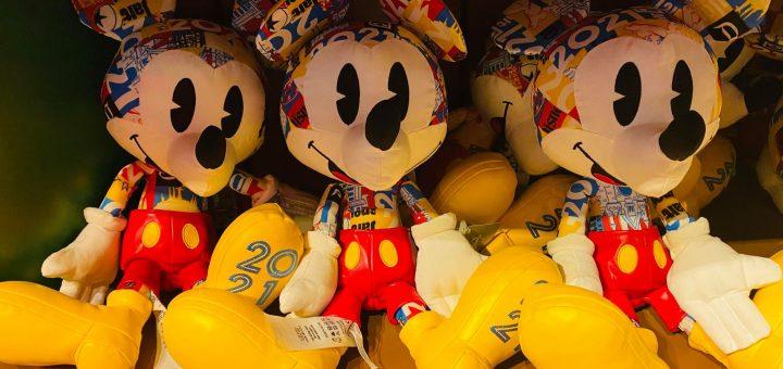 2021 Mickey Plush