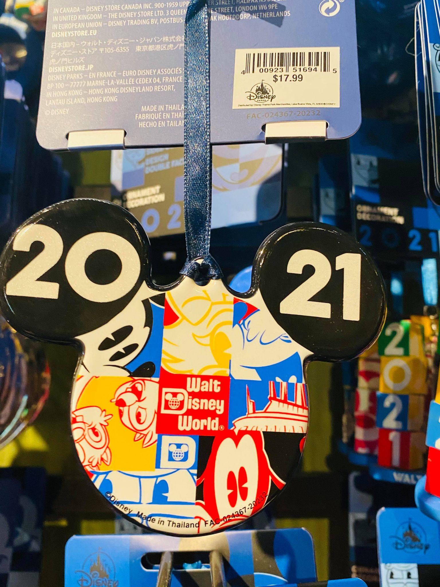 Disney 2021 Christmas Ornament 2021 Christmas Ornaments Have Arrived At Walt Disney World Photos Disney Fashion Blog