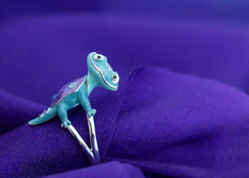 Bruni salamander ring