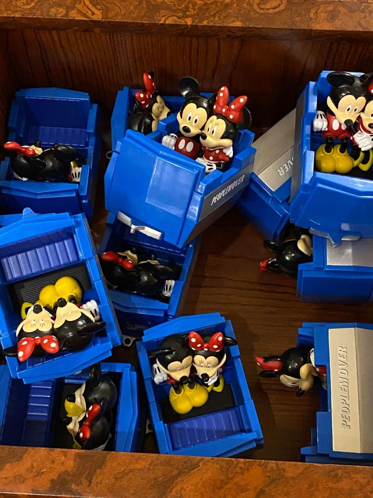 Mickey & Minnie PeopleMover Toy