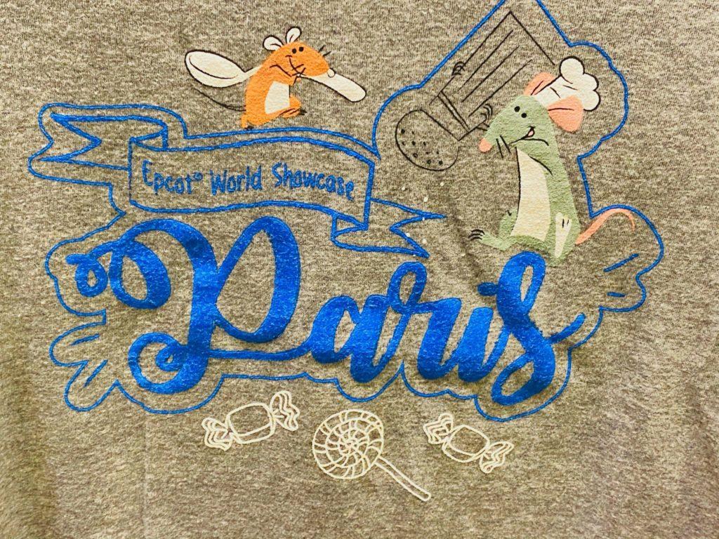 Remy's Ratatouille Adventure Paris Tee