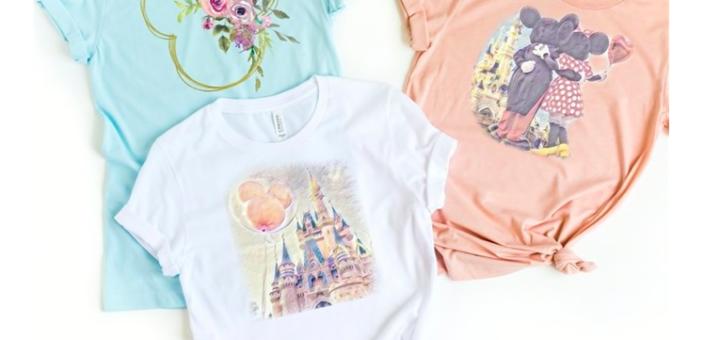 Spring Disney tees