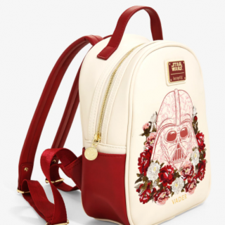 Loungefly Floral Darth Vader Mini Backpack