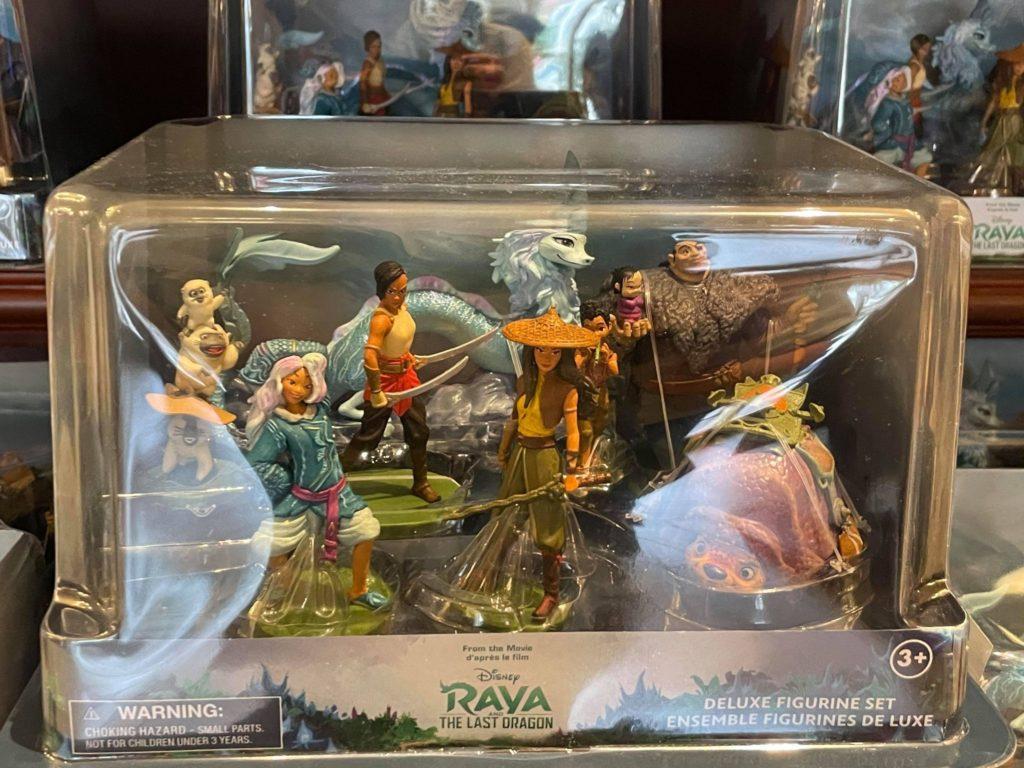 Raya and the Last Dragon Figurine Set