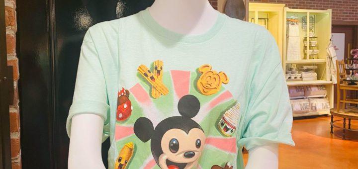 disney snacks shirt
