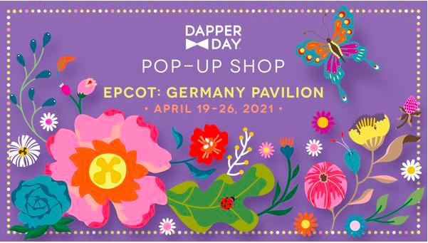 dapper day pop up shop