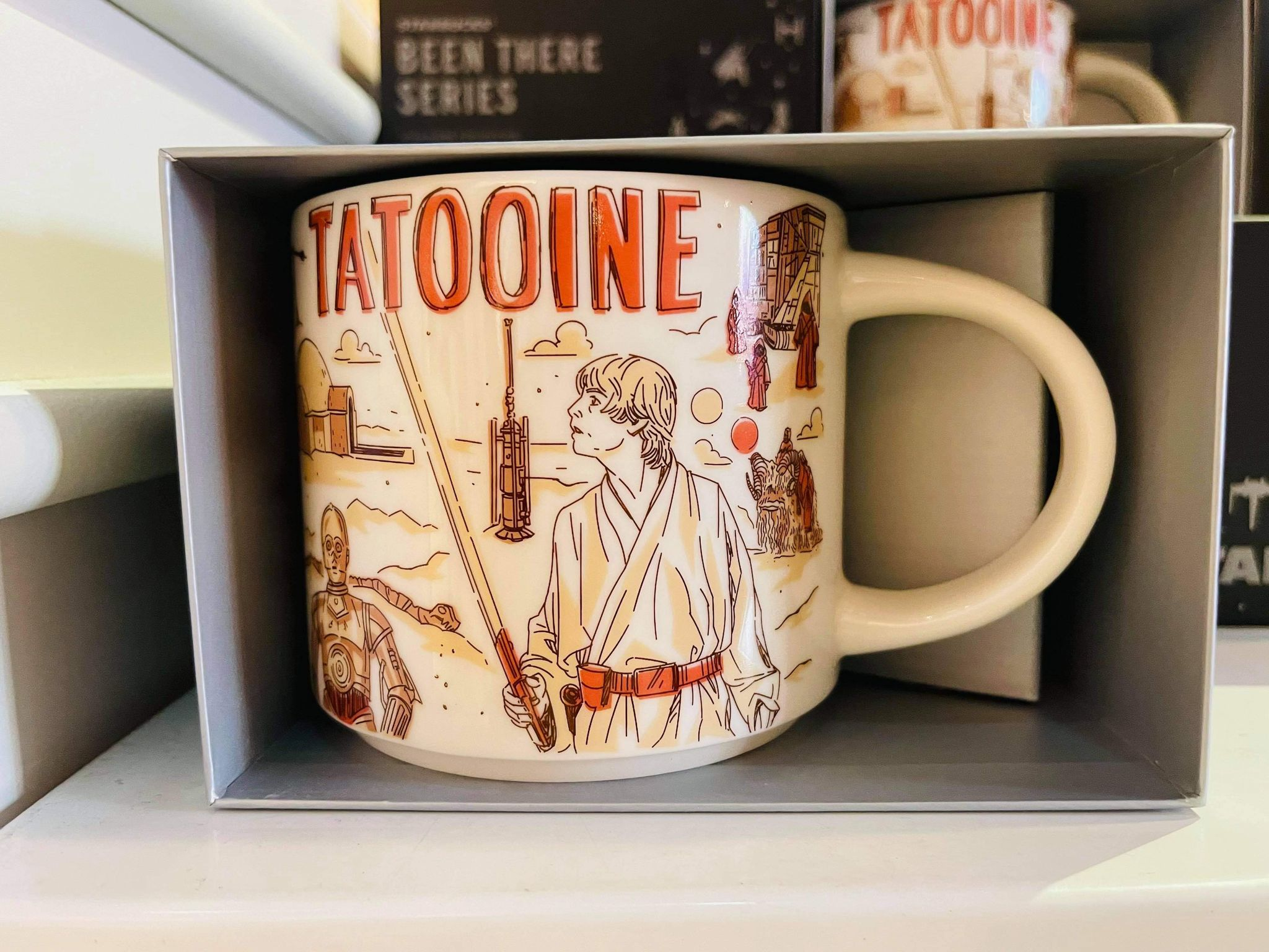 Tatooine Starbucks mug