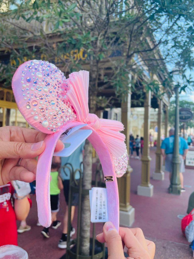 disney baublebar ears pink