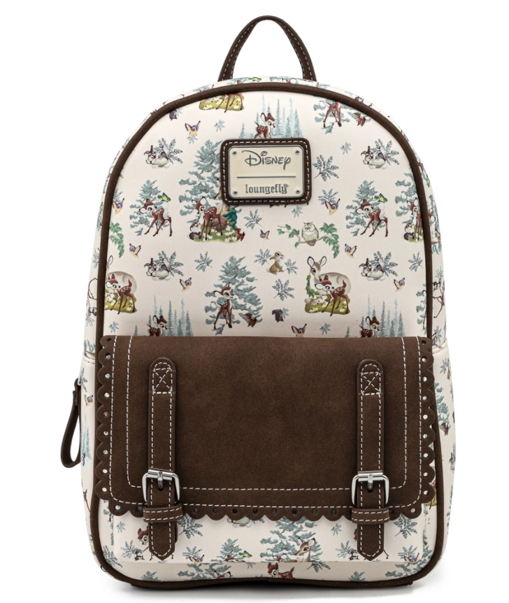 Floral Bambi Loungefly Mini Backpack