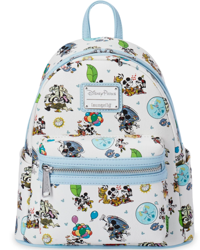 Mickey & Minnie's Runaway Railway Loungefly Mini Backpack