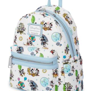 Mickey & Minnie's Runaway Railway Loungefly Mini Backpack