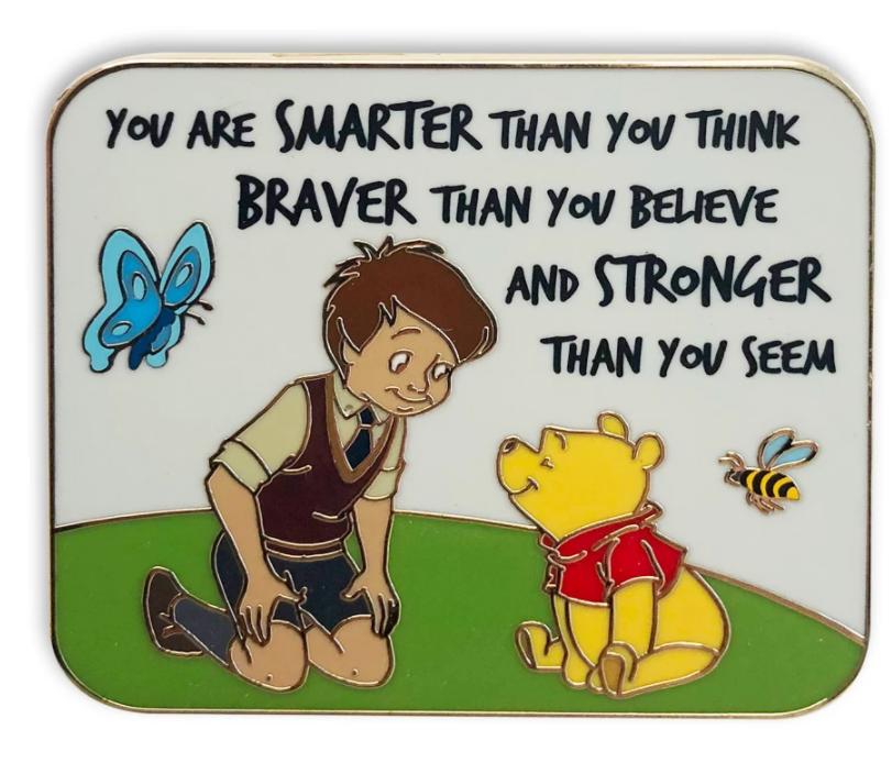Winnie the Pooh pin