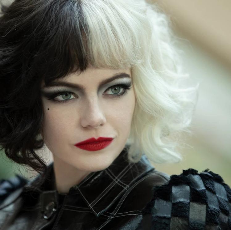 Cruella Black and White Hair