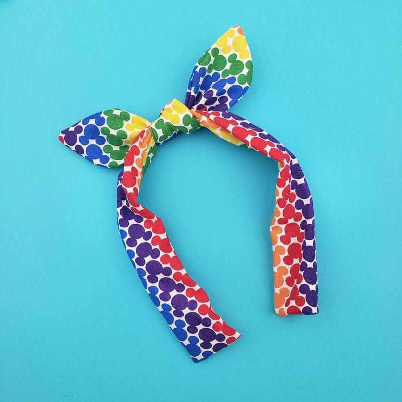 rainbow topknot