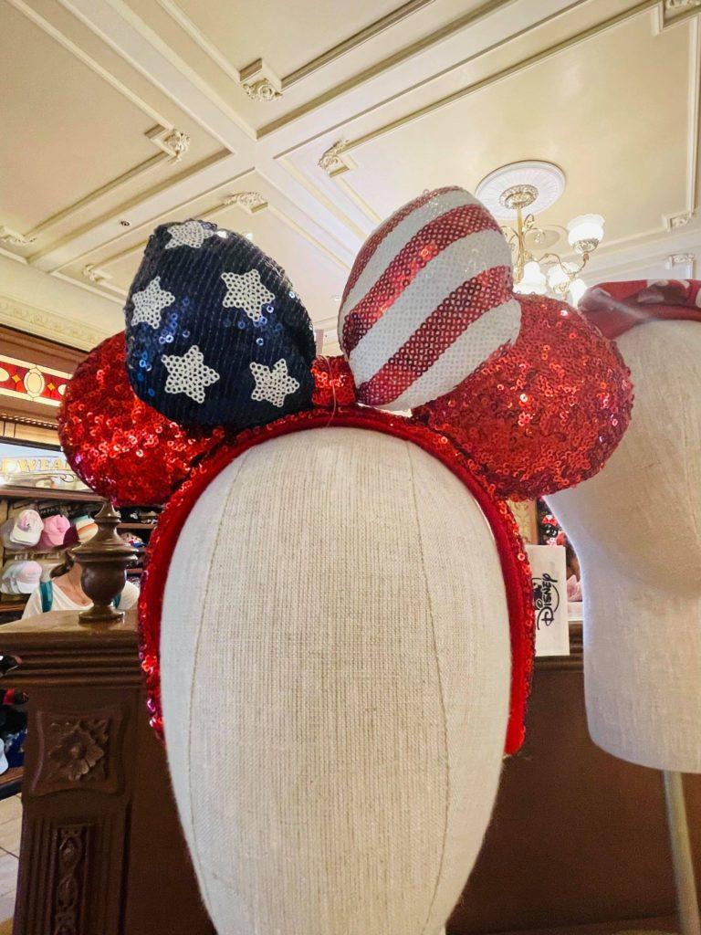 Patriotic 4th of July Ears